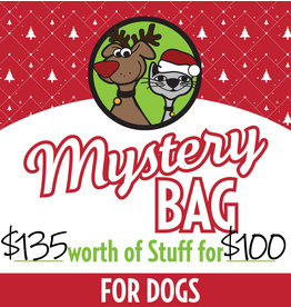 Large Holiday Mystery Bag for Dogs