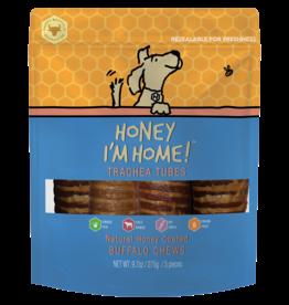 Honey Im Home Honey I'm Home Dog Treats l Buffalo Trachea 5 pc