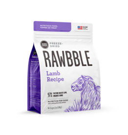 Bixbi Bixbi Freeze Dried Rawbble Lamb 4.5 oz