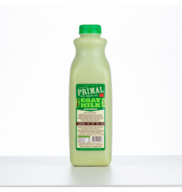 Primal Pet Foods Primal Frozen Raw Goat Milk | Green Goodness 32 oz CASE (*Frozen Products for Local Delivery or In-Store Pickup Only. *)