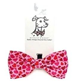 Huxley & Kent Huxley & Kent Bow Tie | Puppy Love Extra Large ( XL)