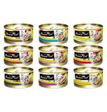 Fussie Cat Fussie Cat Gold Can Food Chicken with Chicken Liver in Pumpkin Soup 2.8 oz single