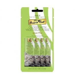 Fussie Cat Fussie Cat Puree Treats | Chicken with Vegetables 2 oz