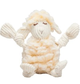 HuggleHounds HuggleHounds HuggleFleece Dog Toys | Louise the Lamb Small