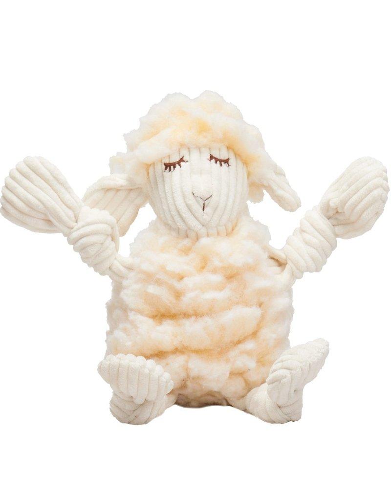 HuggleHounds HuggleHounds HuggleFleece Dog Toys | Louise the Lamb Small