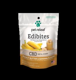 Pet Releaf Pet Releaf Edibites | CBD Hip & Joint Peanut Butter & Banana Trial Size 2.5 oz
