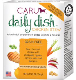 Caru Caru Dog Daily Dish Stew Chicken 12.5 oz CASE