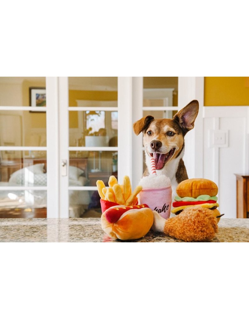 PLAY P.L.A.Y. Dog Toys American Food Collection | Fried Chicken