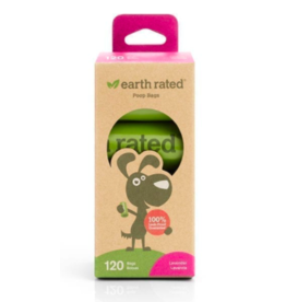 Earth Rated Earth Rated Poop Bags Lavender Scented 8 Rolls 120ct