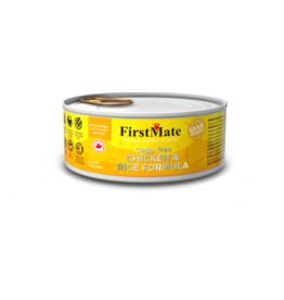 Firstmate FirstMate Canned Cat Food Grain Friendly Cage Free Chicken & Rice 5.5 oz CASE