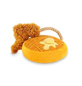 PLAY P.L.A.Y. Barking Brunch Dog Toy Chicken & Woofles