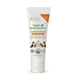 Pure and Naturals Pet Pure and Natural Pet | Organic Dental Solutions Canine Tooth Gel 3 oz