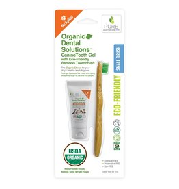 Pure and Naturals Pet Pure and Natural Pet | Organic Canine Dental Kit Small