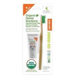 Pure and Natural Pet Pure and Natural Pet | Organic Canine Dental Kit Large