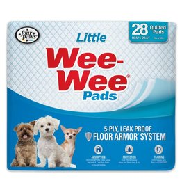 "Four Paws Four Paws Wee Wee Pads Little Pads 16.5"" x 23.5"" 28 ct"