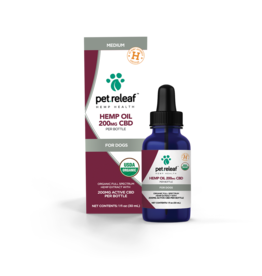 Pet Releaf Pet Releaf Full Spectrum Hemp Oil | Medium 200 mg (1 oz)