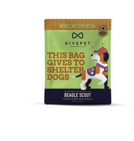 GivePet, LLC GivePet Grain-Free Soft & Chewy Dog Treats | Beagle Scout 6 oz