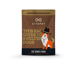 GivePet, LLC GivePet Grain-Free Small Batch Dog Treats | The Ranch Hand 12 oz