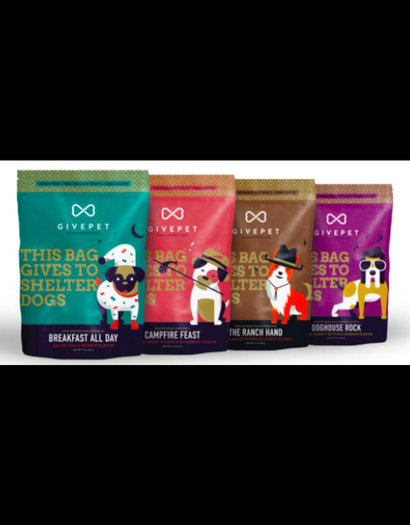 GivePet, LLC GivePet Grain-Free Small Batch Dog Treats | The Ranch Hand 12 oz