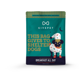 GivePet, LLC GivePet Grain-Free Small Batch Dog Treats | Breakfast All Day 12 oz