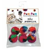 Goli Design Goli Design | Pom Pom Cat Balls 6 pk