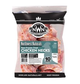 Northwest Naturals Northwest Naturals Frozen Raw Meaty Bones | Chicken Necks 12 oz (*Frozen Products for Local Delivery or In-Store Pickup Only. *)