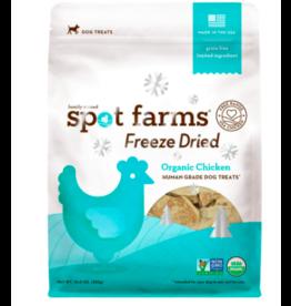 Spot Farms DISC Spot Farms Freeze Dried Treats   Organic Chicken 10 oz