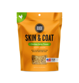 Bixbi Bixbi  Jerky Dog Treats  Skin & Coat Chicken 5 oz