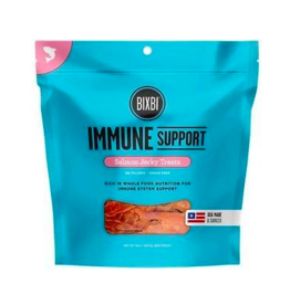 Bixbi Bixbi  Jerky Dog Treats Immune Support Salmon 5 oz