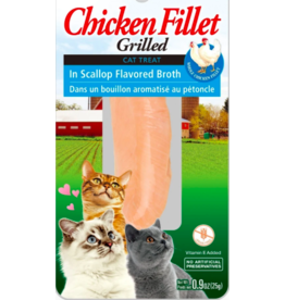 Inaba Inaba Fillets Cat Treats Chicken in Scallop Broth 0.9 oz single