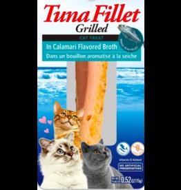 Inaba Inaba Fillets Cat Treats Tuna in Calamari Broth 0.52 oz single