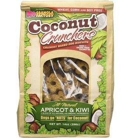 K9 Granola Factory K9 Granola Factory Coconut Crunchers Apricot & Kiwi 14 oz