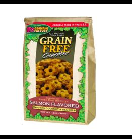 K9 Granola Factory K9 Granola Factory Grain Free Crunchers Salmon 12 oz