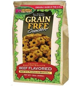 K9 Granola Factory K9 Granola Factory Grain Free Crunchers Beef 12 oz