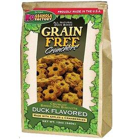 K9 Granola Factory K9 Granola Factory Grain Free Crunchers Duck 12 oz