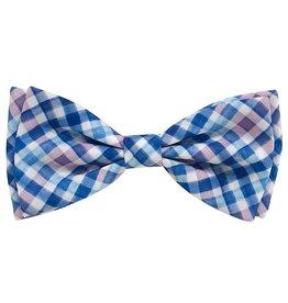 Huxley & Kent Huxley & Kent Bow Tie | Purple Check Extra Large (XL)