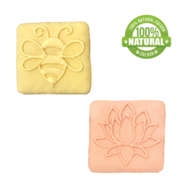 Bosco and Roxy's Bosco & Roxy's Spring Collection | Bee or Lotus Tile single