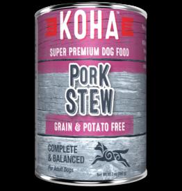 Koha Koha Canned Dog Food Pork Stew 12.7 oz single
