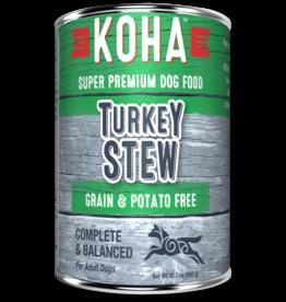 Koha Koha Canned Dog Food Turkey Stew 12.7 oz single