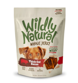 Fruitables Fruitables Wildly Natural Dog Jerky Treats | Thick Cut Bacon 5 oz