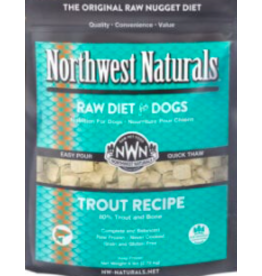 Northwest Naturals Northwest Naturals Frozen Dog Food Trout 6 lb CASE (*Frozen Products for Local Delivery or In-Store Pickup Only. *)