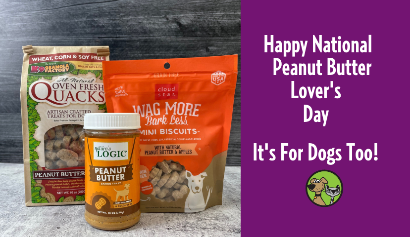 Happy National Peanut Butter Lover's Day! It's For Dogs Too!