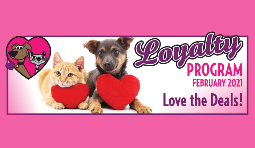 February Pet Food & Treats Loyalty Program Savings For Your Cat Or Dog