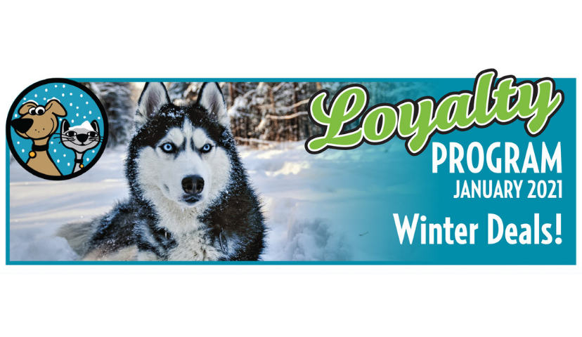January 2021 Dog & Cat Loyalty Program Specials Are Here!