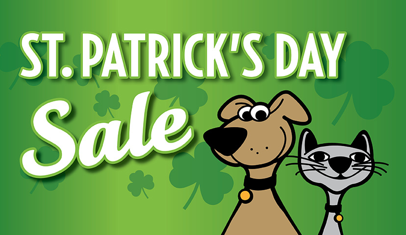 St. Patrick's Day Fun For Your Cat & Dog