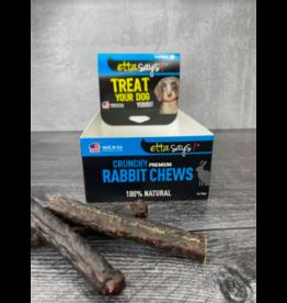 Etta Says Etta Says Dog Crunchy Treats Rabbit 4.5 in single