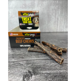 Etta Says Etta Says Dog Crunchy Treats Beef 4.5 in single