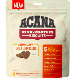 Acana Acana High Protein Biscuits | Turkey Liver Recipe Small 9 oz