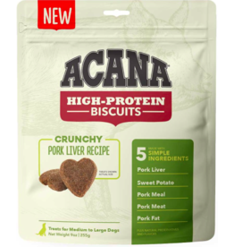 Acana Acana High Protein Biscuits | Pork Liver Recipe Large 9 oz
