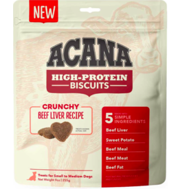 Acana Acana High Protein Biscuits | Beef Liver Recipe Small 9 oz